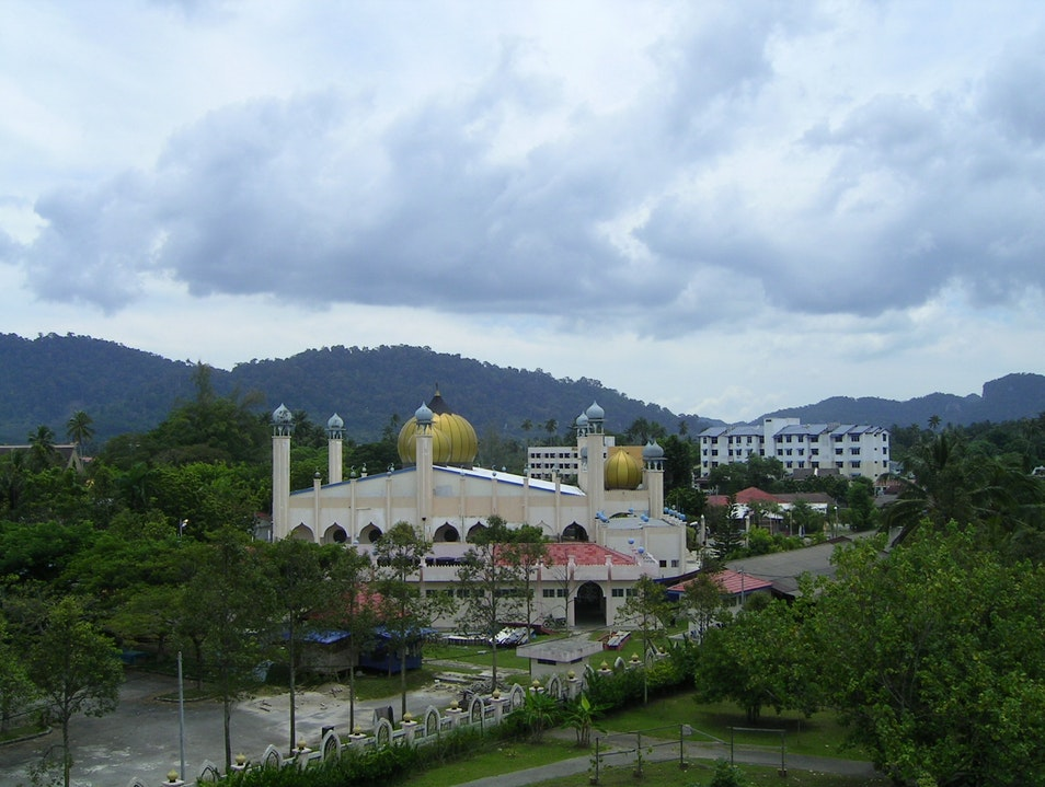 First Visit to a Mosque Langkawi  Malaysia