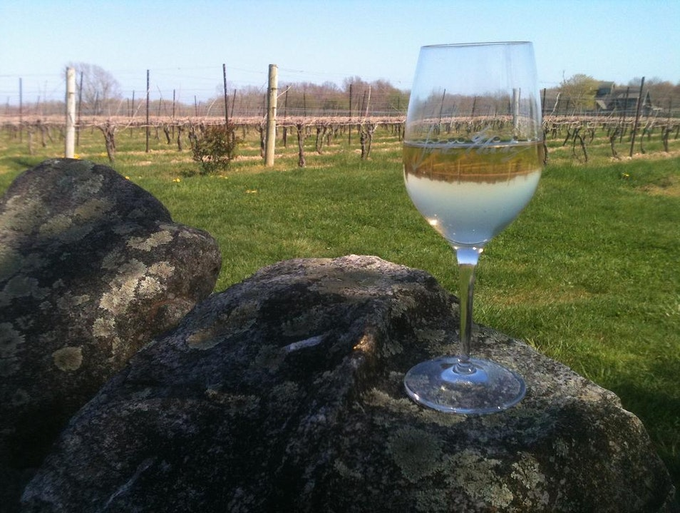 Rock Wall Vineyard North Stonington Connecticut United States