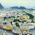 Mount Aksla Alesund  Norway