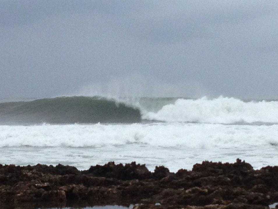 Winter Weather Means Wave On The North Shore Haleiwa Hawaii United States