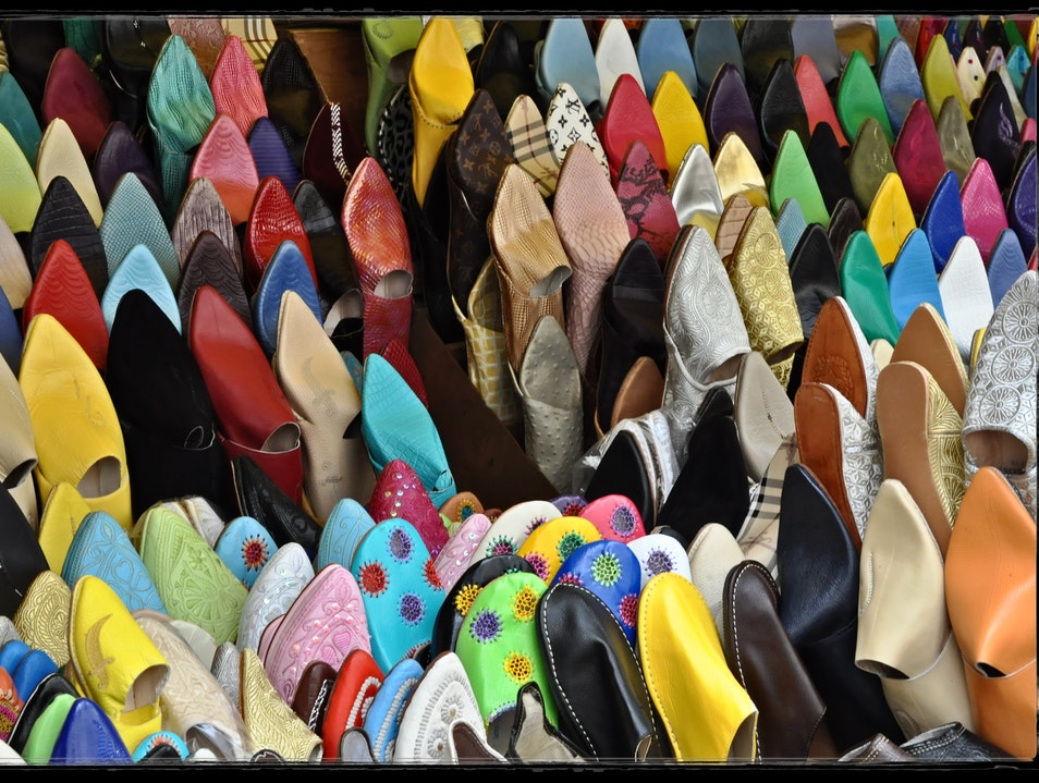 If the shoe fits, definitely buy it Tangier  Morocco