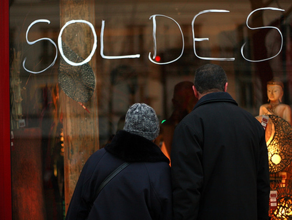 Les Soldes: Paris on Sale Paris  France
