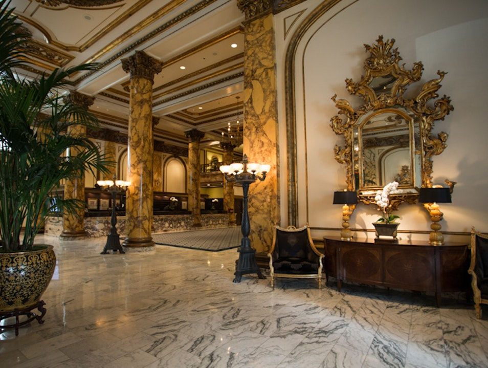 San Francisco's Fairmont Hotel - Luxury on Nob Hill San Francisco California United States
