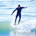Surfing in Santa Barbara  Santa Barbara California United States