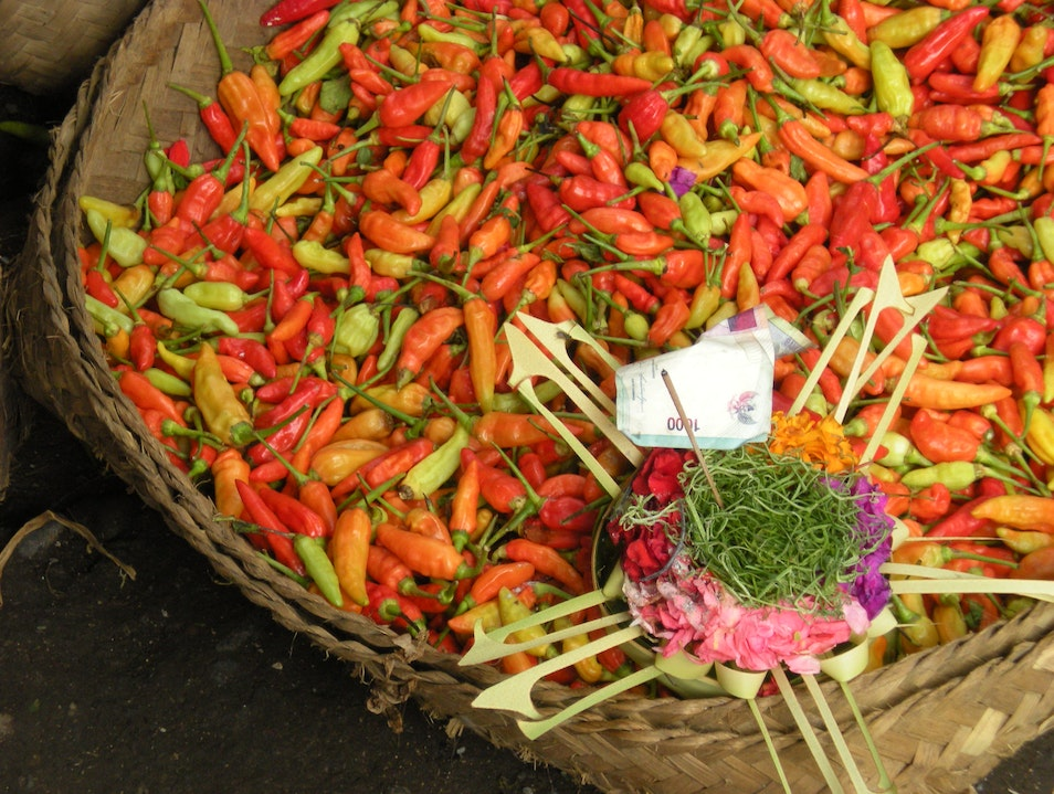 Blessings for Chilies Baturiti  Indonesia