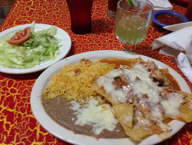 Fill up on authentic Mexican fare at Mi Tolteca