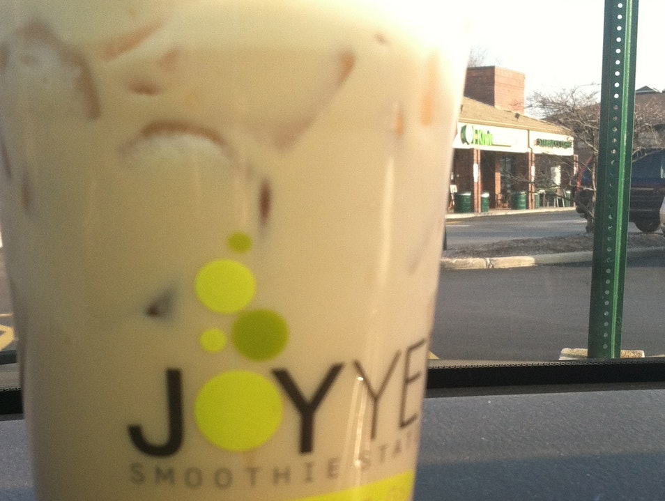 Bubble Tea at Joy Yee's