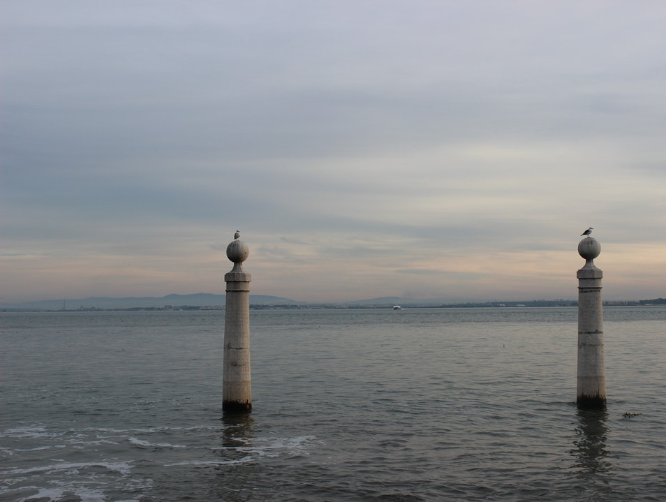 Sunset over the Tagus