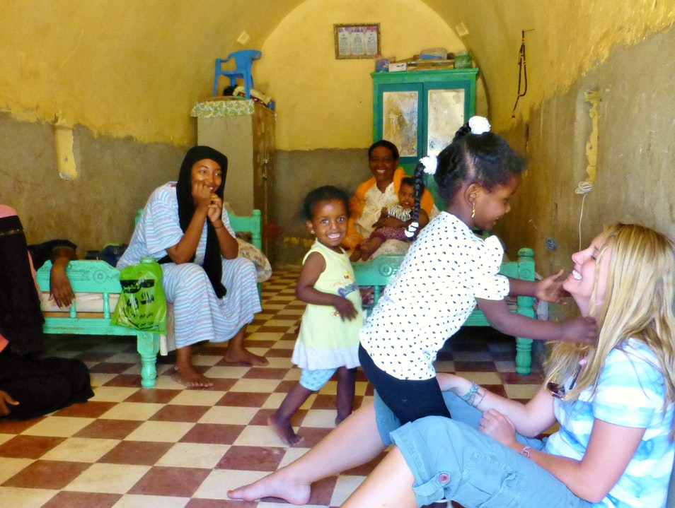 A visit to a Nubian home