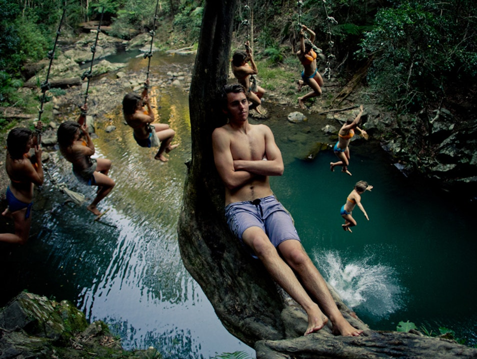 A place to cool off Currumbin Valley  Australia