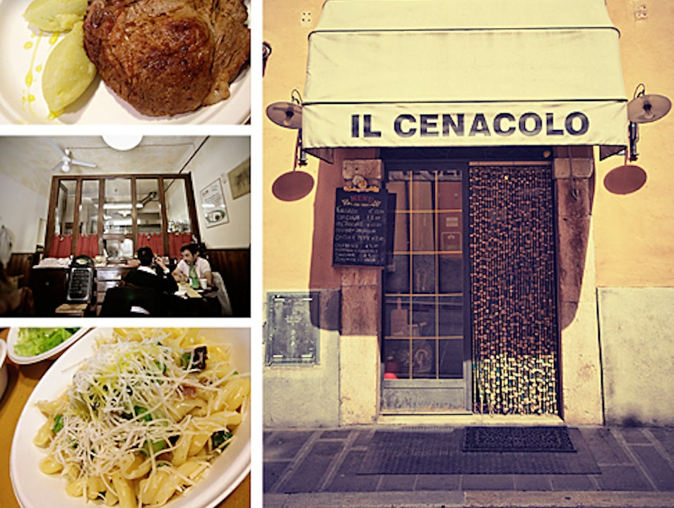 A Tiny Authentic Restaurant in Norcia, Italy