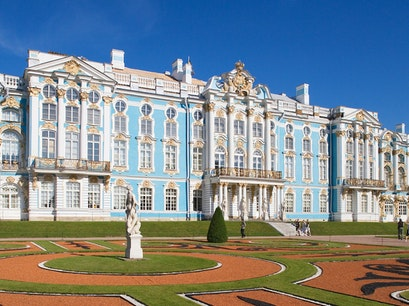 Catherine Palace St. Petersburg  Russia