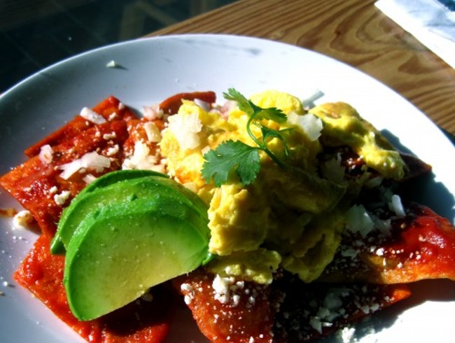 For chilaquiles on a Saturday morning...