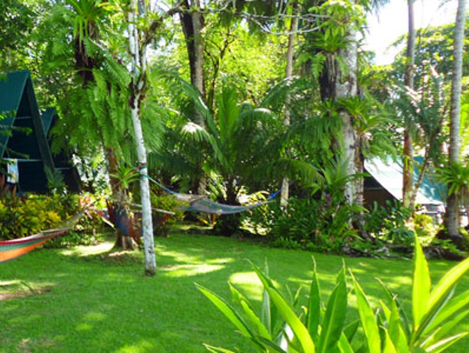 Camping in Corcovado National Park Puntarenas Province  Costa Rica