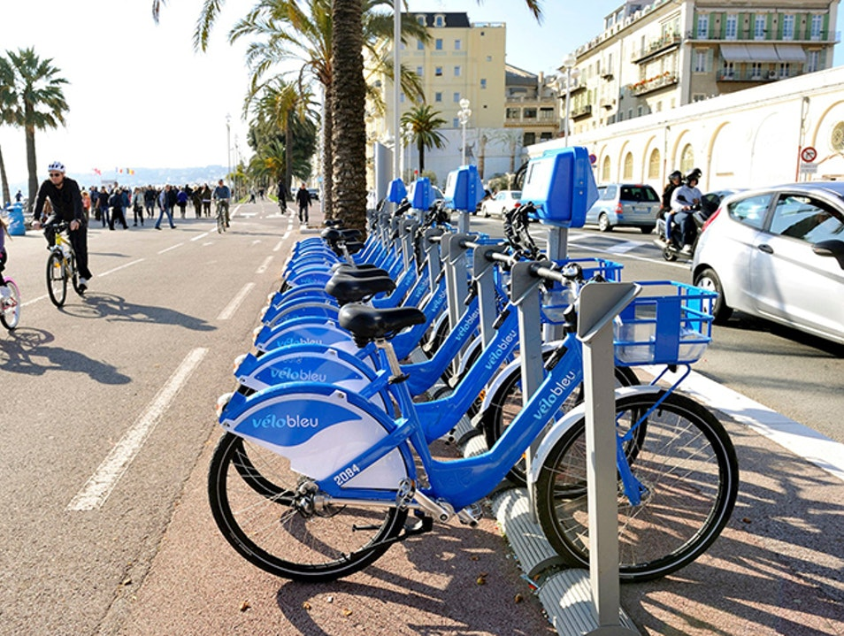 Bike the Promenade des Anglais Nice  France