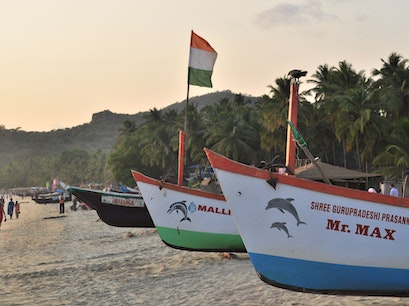 Palolem Beach Canacona  India