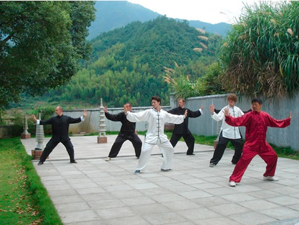 Tai Chi in Fujiang Province, China