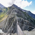 Trift Bridge Gadmen  Switzerland