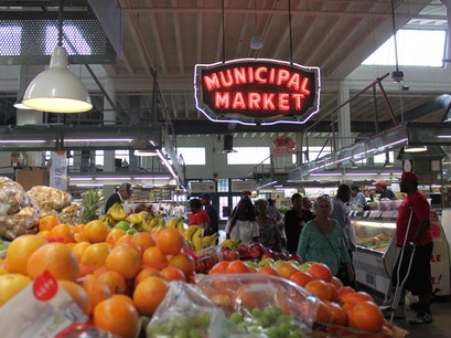 Sweet Auburn Curb Market Atlanta Georgia United States