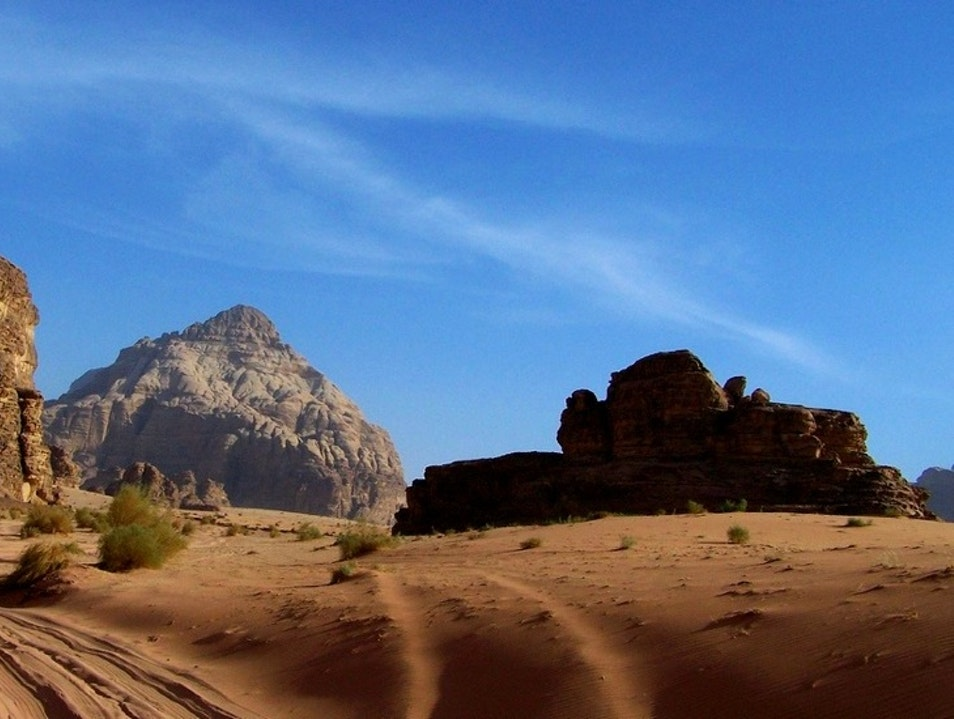 Trekking in the Footsteps of Lawrence Aqaba  Jordan