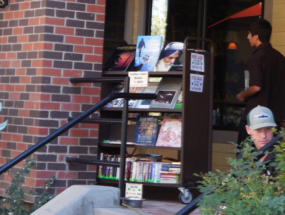 Curl Up With a Cup of Tea and a Book Park City Utah United States