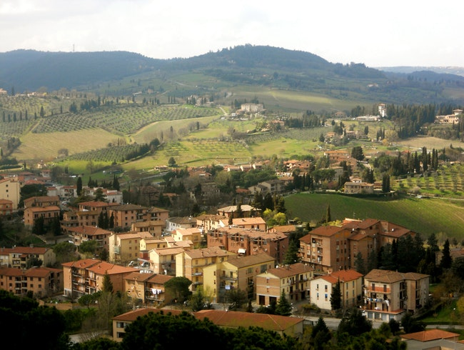 On top of Tuscany