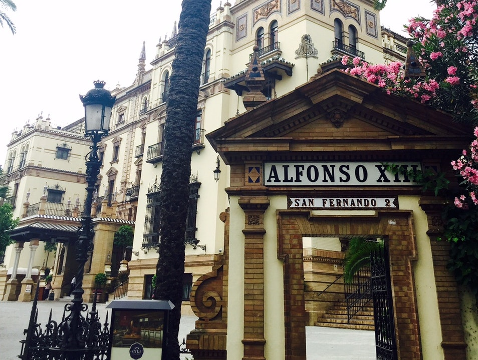 Hotel Alfonso XIII Seville  Spain