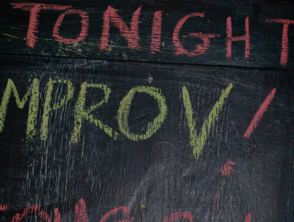 Shake Off A Bad Day With Some Local Improv