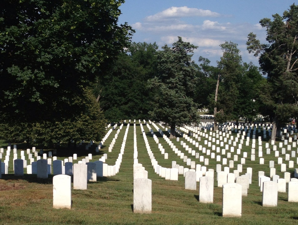 Cemetery Arlington Virginia United States