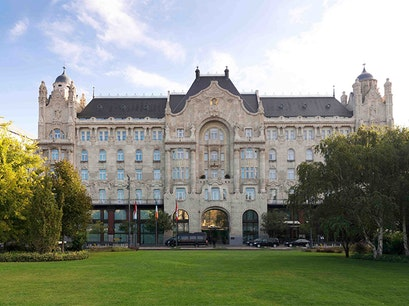 Four Seasons Hotel Gresham Palace Budapest  Hungary