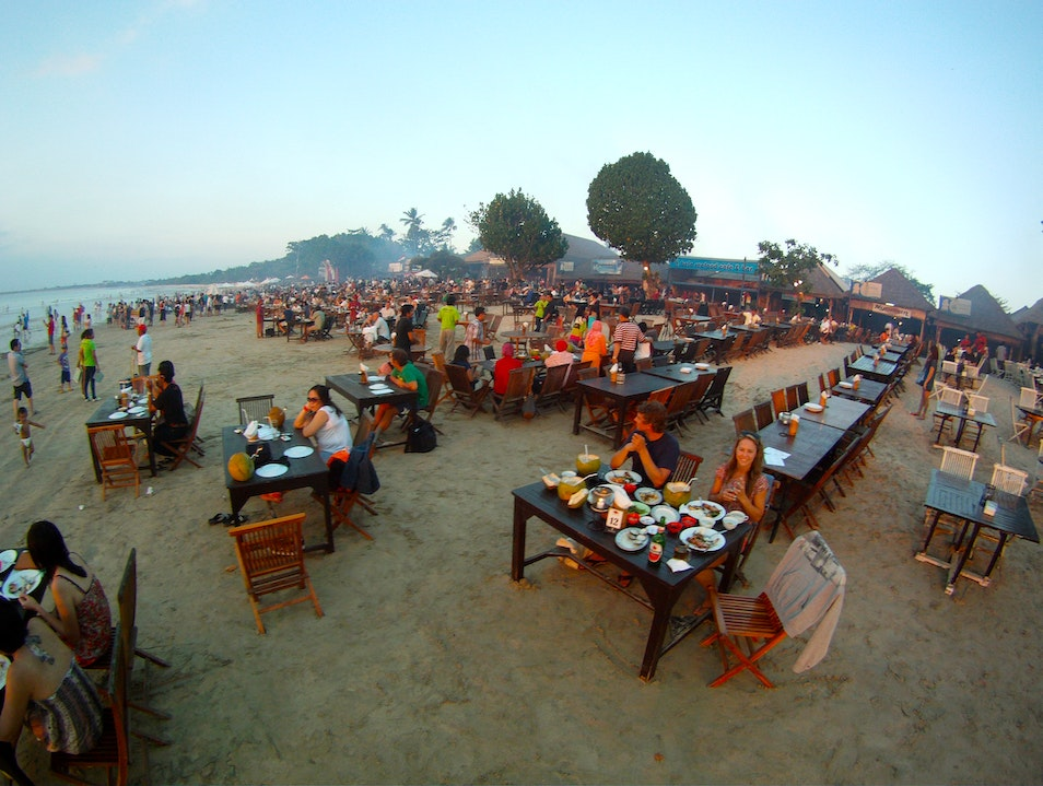 A Feast of Sights, Smells, & Seafood at Jimbaran Bay Kuta  Indonesia