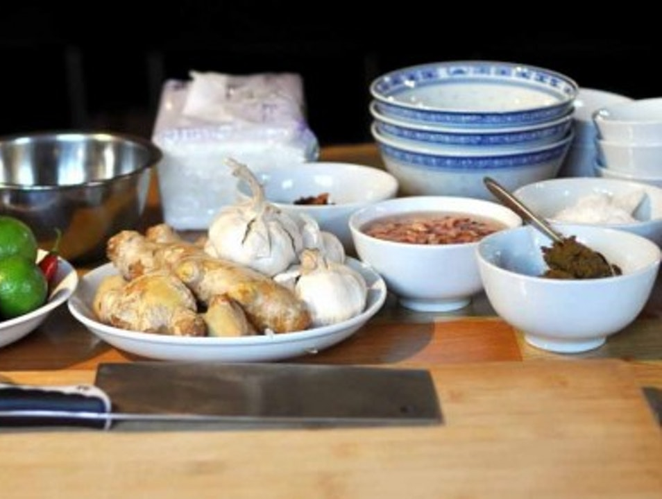 Cooking Class at The Hutong Kitchen Beijing  China