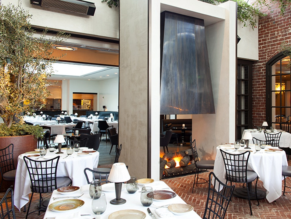 Fine California Dining at Beverly Hills' Chicest Spot Beverly Hills California United States