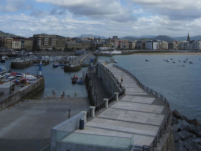 A quiet afternoon in San Sebastian