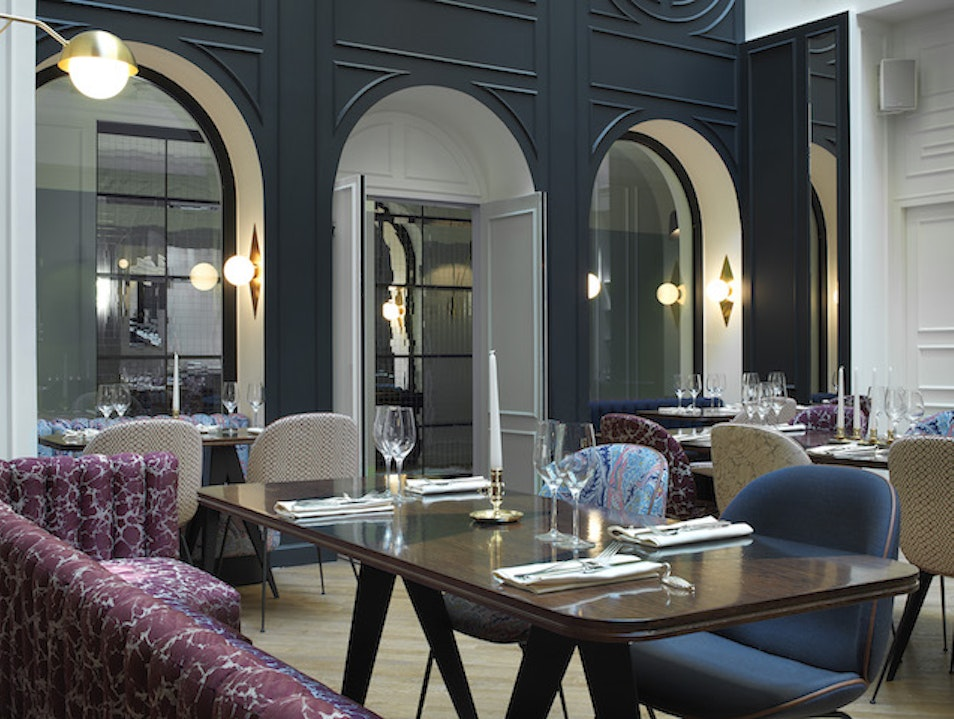 Sophisticated Glam at Hotel Bistro Paris  France