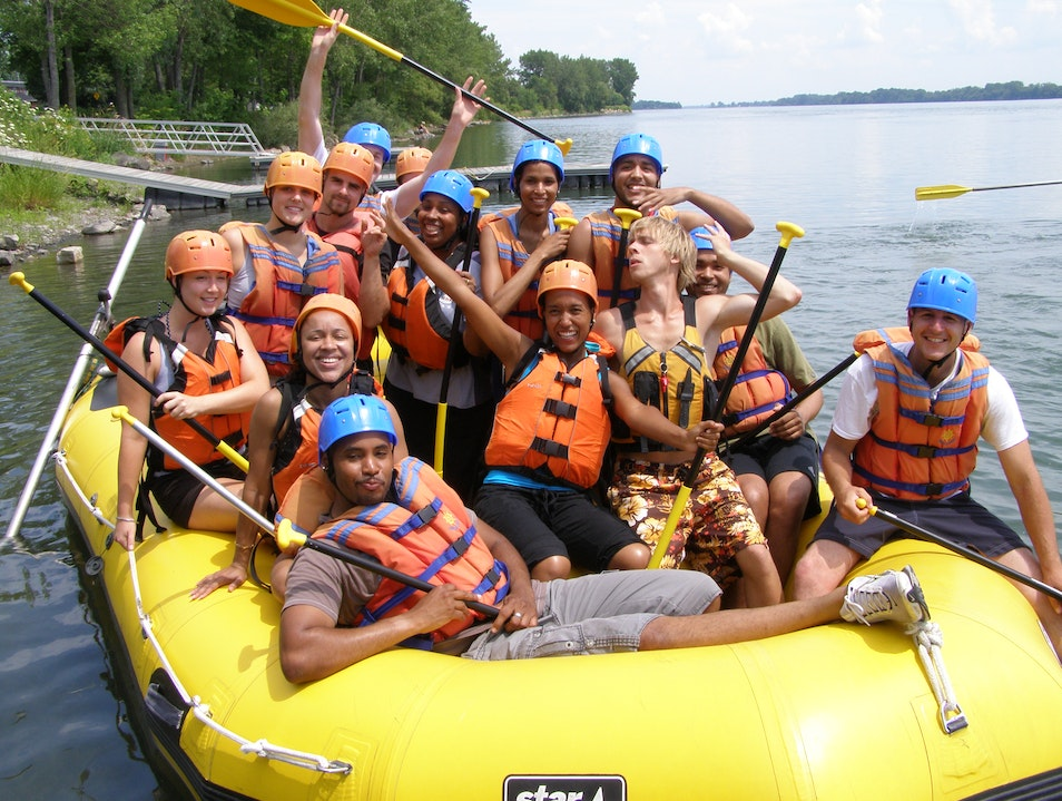 Rafting just a few minutes from Downtown Montreal !