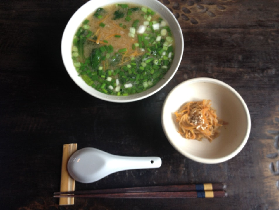 Japanese Cuisine in the Sacred Valley
