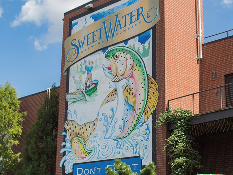 Don't Float the Mainstream with Sweetwater Brewing Company Atlanta Georgia United States