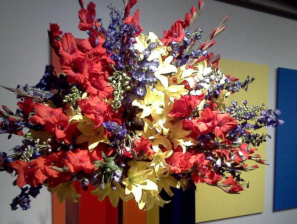 Art in Bloom at The Milwaukee Art Museum! Milwaukee Wisconsin United States