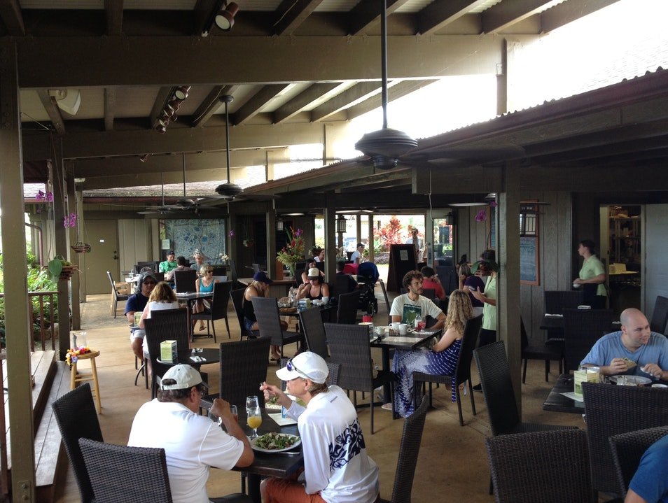 Farm to Table Brunch at The Garden Cafe Common Ground Kilauea Hawaii United States