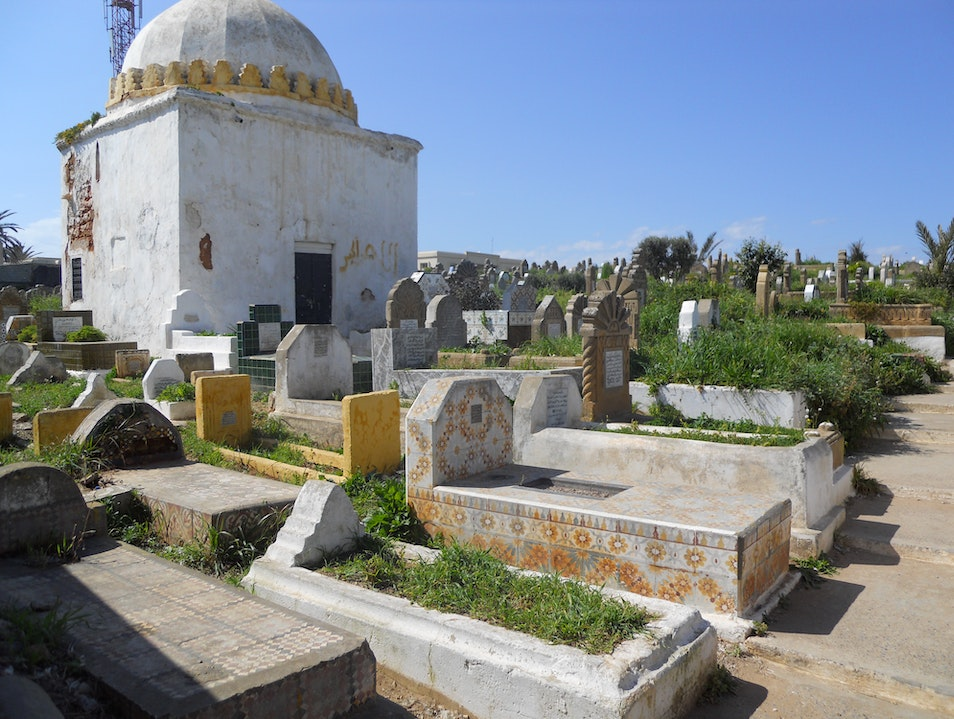 Beautiful Cemetery in Rabat Rabat  Morocco
