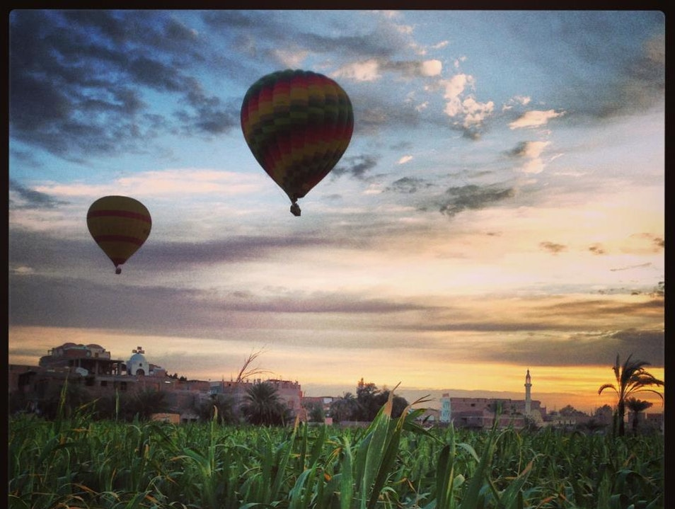 Hot Ballon luxor sunrise
