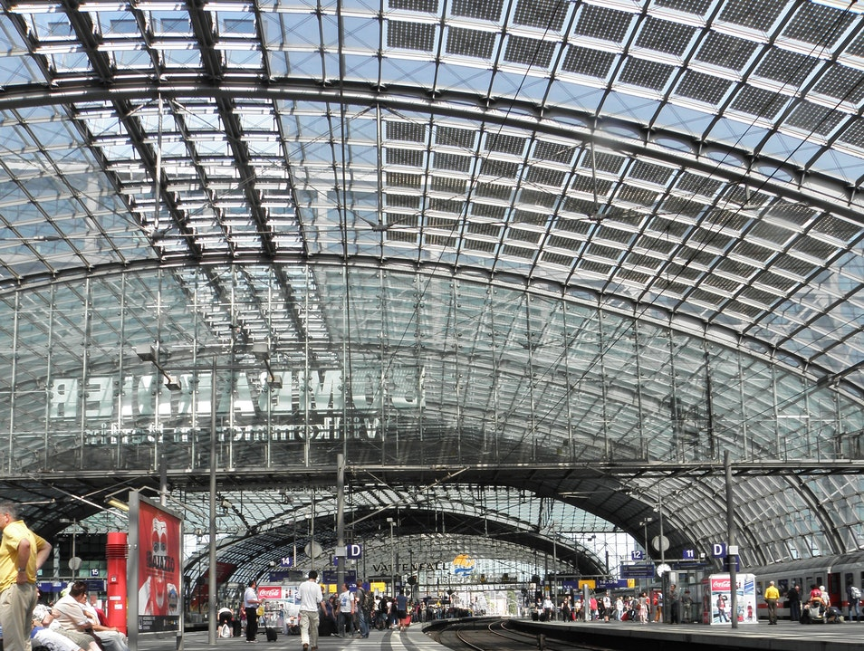 Berlin's Central Station Berlin  Germany