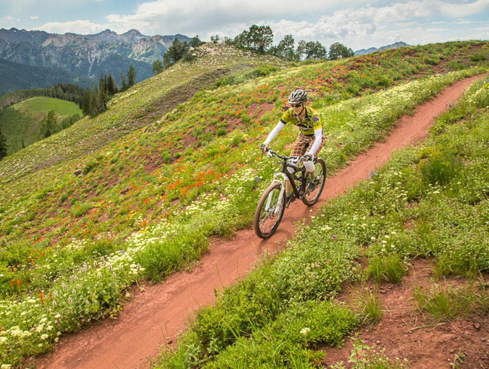 Ride the Wasatch Crest Trail Park City Utah United States