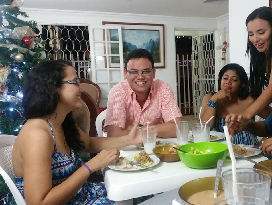 A night of culural exchange   Cartagena  Colombia