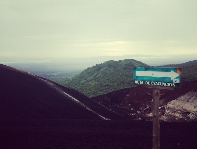 Hike Up An Active Volcano