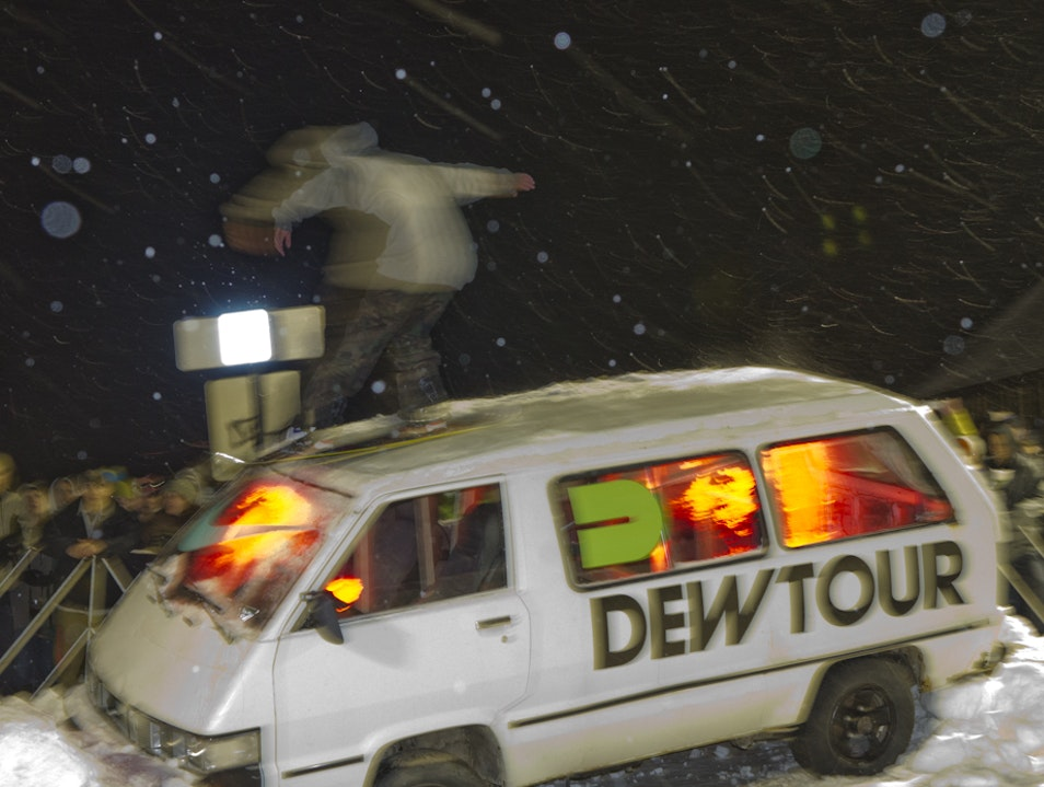 Dew Tour Street Event Breckenridge Colorado United States
