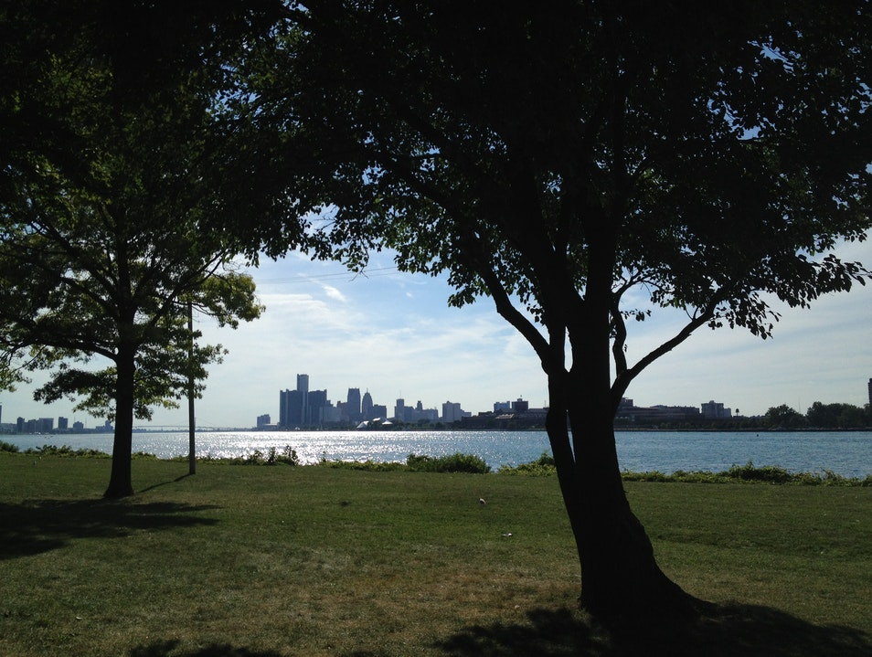 Getaway to an Island Without Leaving Detroit Detroit Michigan United States