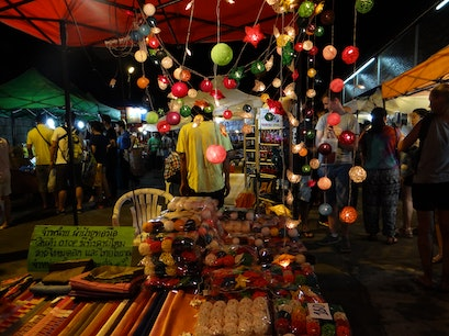 The Night Market Chang Moi  Thailand