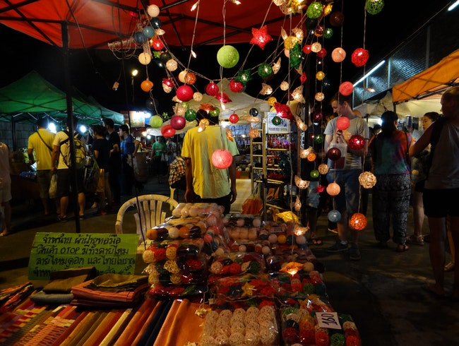 Exploring Chiang Mai's Nightly Markets
